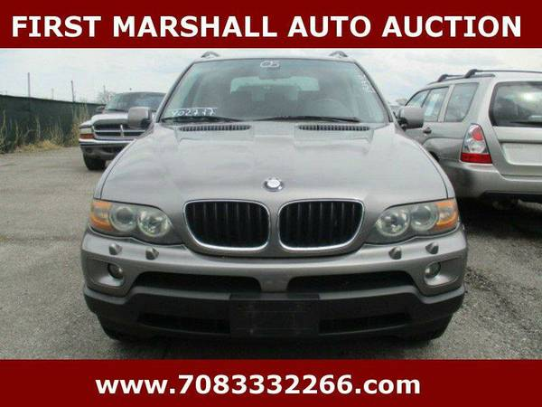 2005 BMW X5 3.0i AWD 4dr SUV - First Marshall Auto Auction