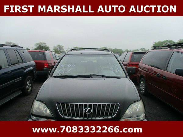 2000 Lexus RX 300 - First Marshall Auto Auction