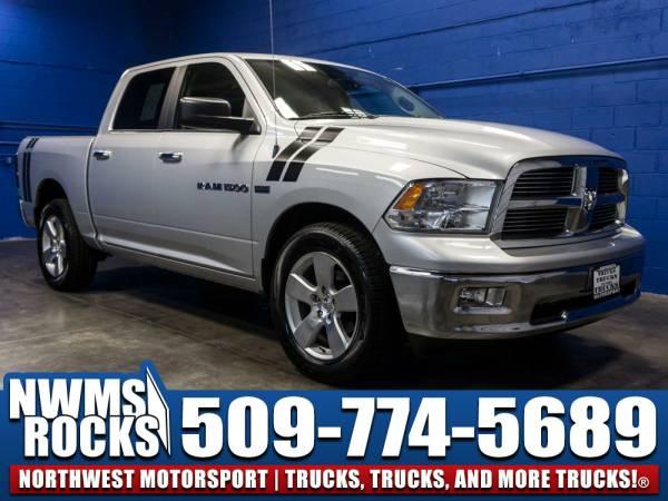 2012 *Dodge Ram* 1500 Big Horn 4x4 - Clean Carfax History! 2012 Dodge
