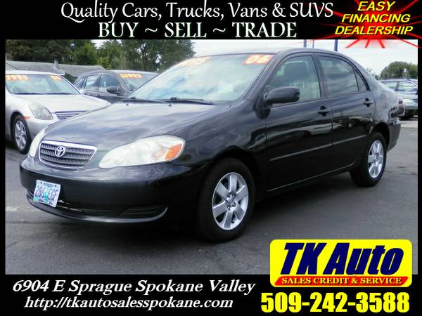2006 Toyota Corolla LE #4168 =★= No Credit or Bad credit!