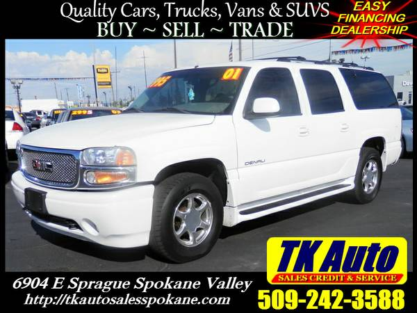 2001 GMC Yukon Denali XL 4x4 =★= No Credit or Bad credit!