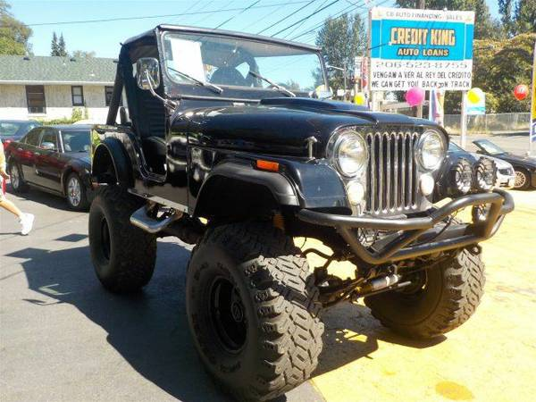 Zero Down Loans 1973 JEEP CJ MT01245