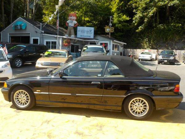Zero Down Loans 1997 BMW 3 Series 328icA WBABK8322VET97412