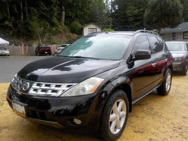 Zero Down Loans 2003 Nissan Murano SL JN8AZ08W23W224217