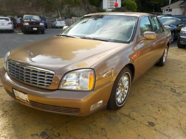 Zero Down Loans 2005 Cadillac DeVille w/Livery Pkg 1G6KD54Y85U197965