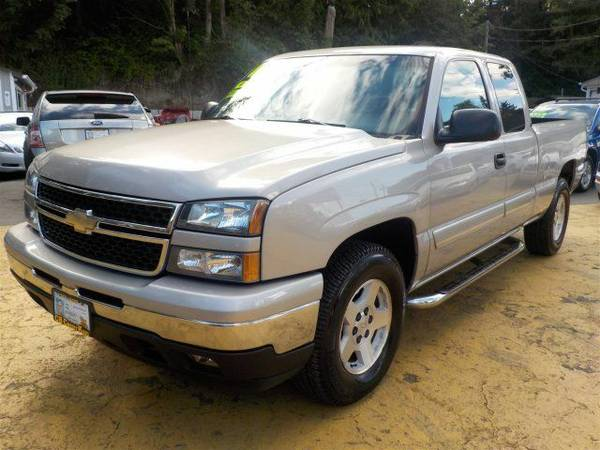 Zero Down Loans 2006 Chevrolet Silverado 1500 LT3 1GCEK19B86Z192198