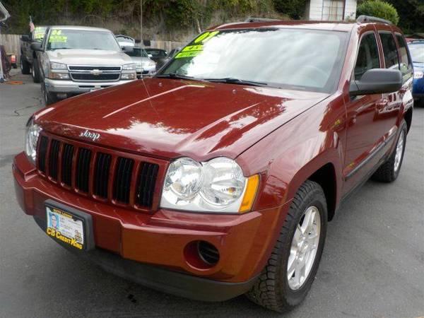 Zero Down Loans 2007 Jeep Grand Cherokee Laredo 1J8GR48KX7C534626