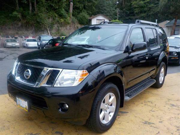 Zero Down Loans 2008 Nissan Pathfinder SE 5N1AR18B48C648999