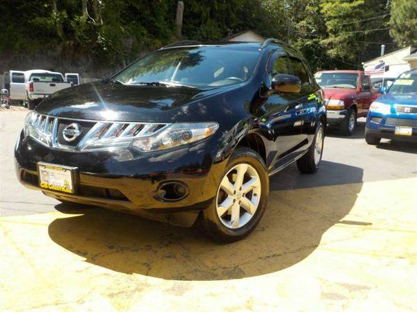 Zero Down Loans 2009 Nissan Murano SL JN8AZ18W89W111810