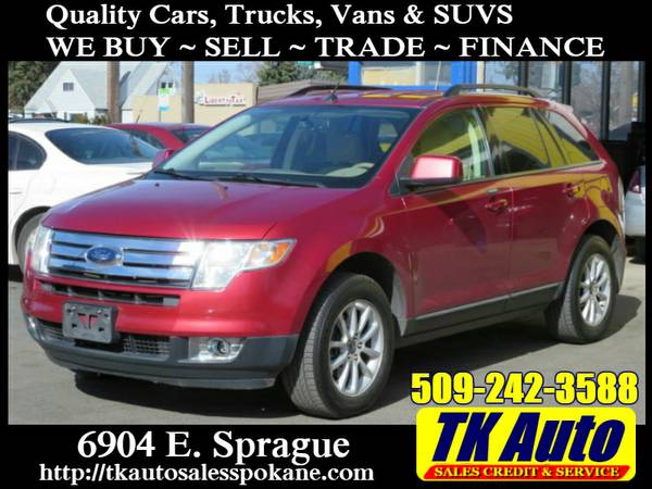 2007 Ford Edge SEL AWD #3615 ★ Credit Union Financing!