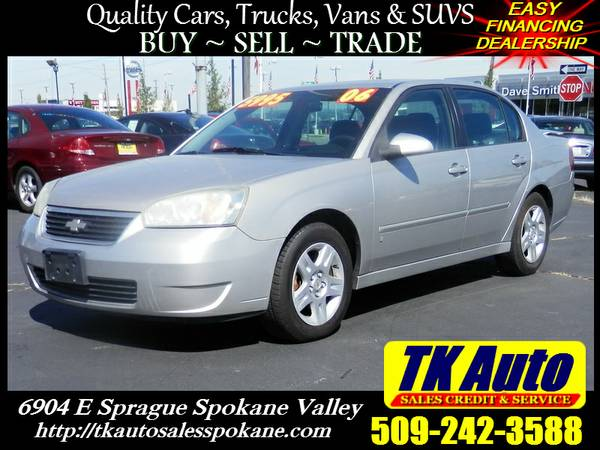 2006 Chevrolet Malibu - Spoiler - Sunroof - Traction Control