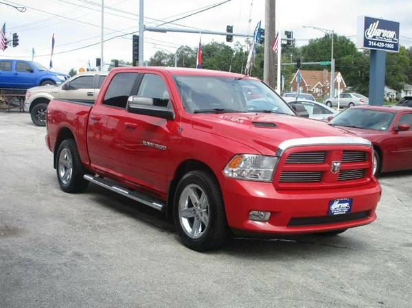 2012 Dodge Ram 1500 4X4 Sport - HEMI -CREW CAB -1 OWNER -FULLY LOADED!