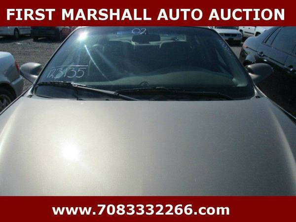2002 Pontiac Bonneville SE 4dr Sedan - First Marshall Auto Auction