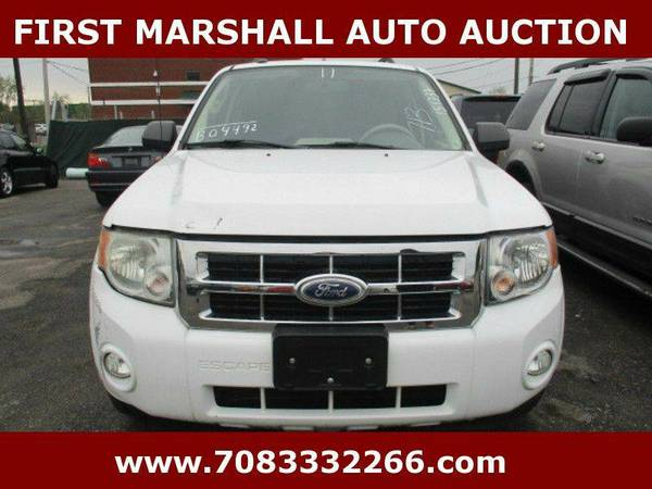 2011 Ford Escape XLT AWD 4dr SUV - First Marshall Auto Auction