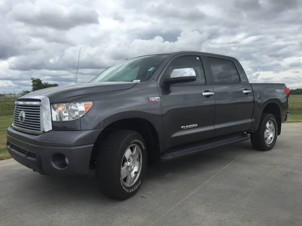 ~2013 TOYOTA TUNDRA LIMITED~CREWMAX~LEATHER LOADED~4X4~