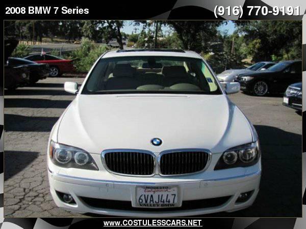 2008 BMW 7 Series 750i 4dr Sedan ===>TEXT MANNY <===