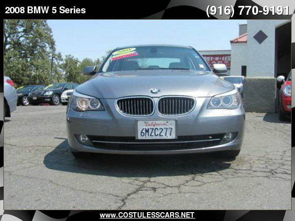 2008 BMW 5 Series 528i 4dr Sedan Luxury ===>TEXT MANNY <===