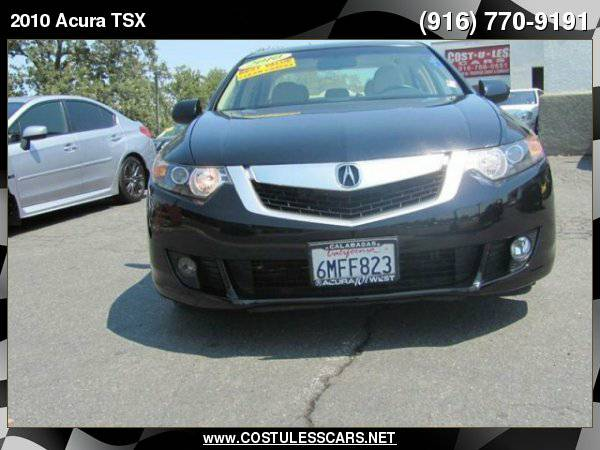 2010 Acura TSX w/Tech 4dr Sedan 5A w/Technology Package ===>TEXT...