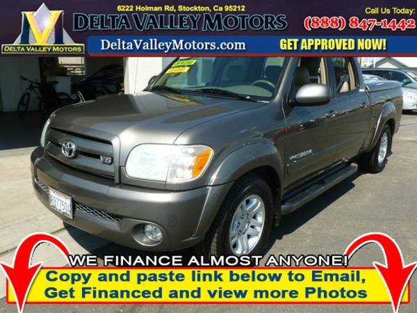 2006 Toyota Tundra Double Cab Limited Pickup 4D 6 1 2 ft Truck