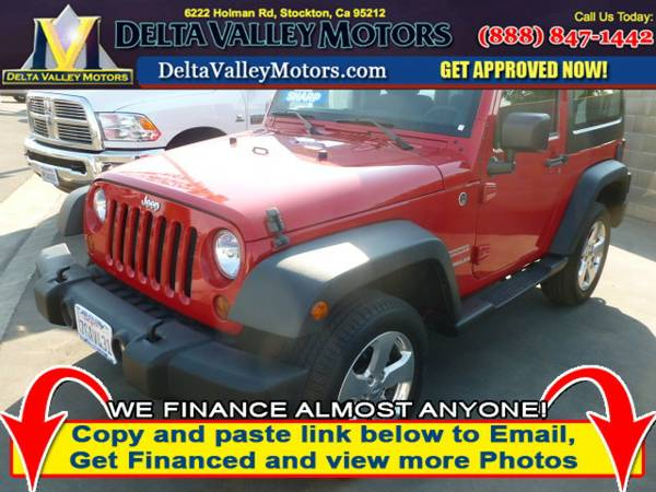 2012 Jeep Wrangler Sport SUV 2D SUV