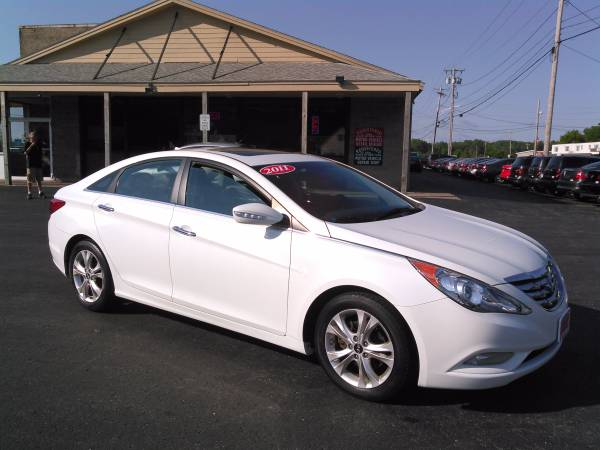 2011 HYUNDAI SONATA LIMITED PZEV WITH GUARANTEED CREDIT APPROVAL!!