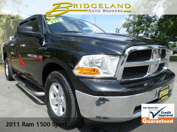 2011 *Ram* *1500* SLT BLACK BEAUTY -$1000's Below Book Value!