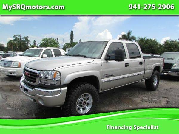 2006 *GMC* *Sierra* *2500HD* SL Crew Cab 4WD - - MySRQmotors.com !!!!!