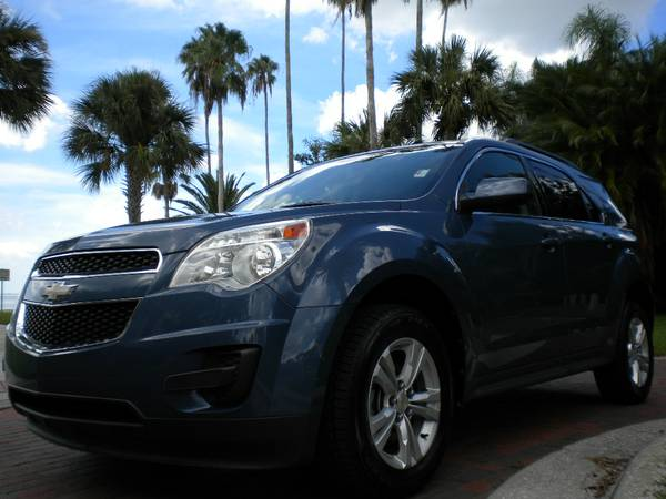 LOW MILE 11 CHEVY EQUINOX LT BACK UP CAMERA ALL POWER EASY LOAN !!!!!!