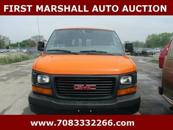 2008 GMC Savana Cargo 2500 3dr Cargo Van - First Marshall Auto Auction