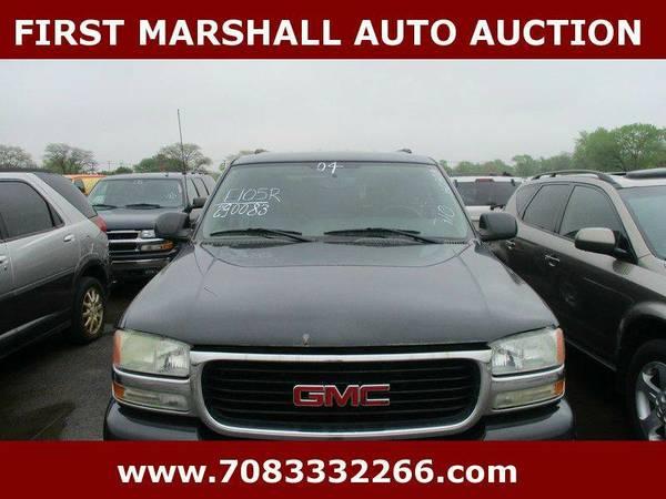 2004 GMC Yukon Base 4dr SUV - First Marshall Auto Auction