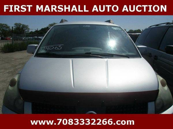 2006 Nissan Quest 3.5 4dr Mini Van - First Marshall Auto Auction