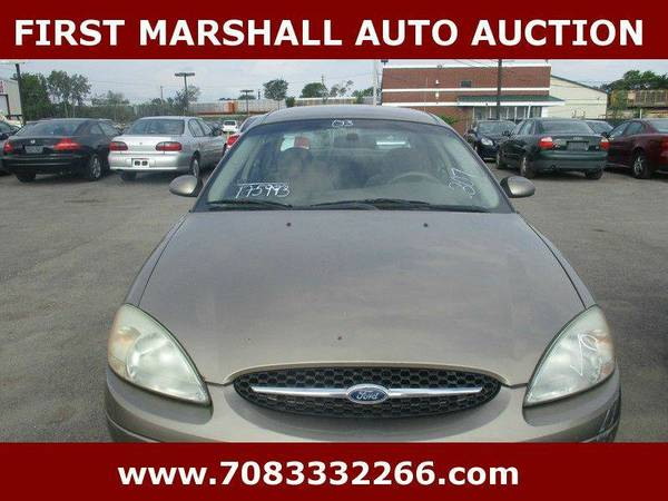 2003 Ford Taurus SES Deluxe - First Marshall Auto Auction