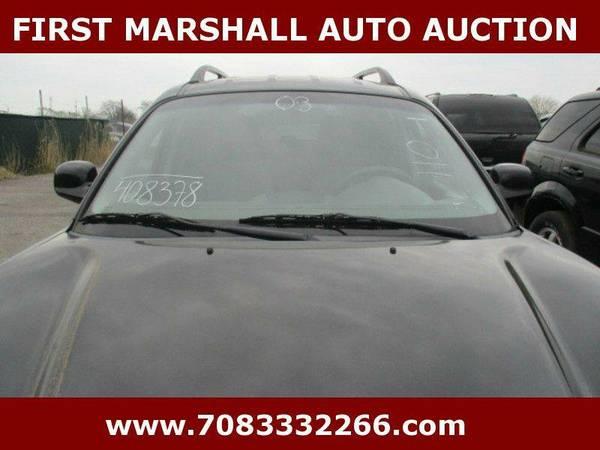 2003 Hyundai Santa Fe - First Marshall Auto Auction