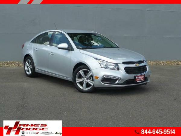 2015 Chevrolet Cruze - Free Oil Changes For Life