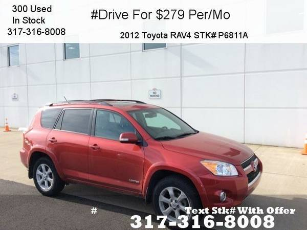 2012 Toyota RAV4 Limited 4D Sport Utility SUV 4WD