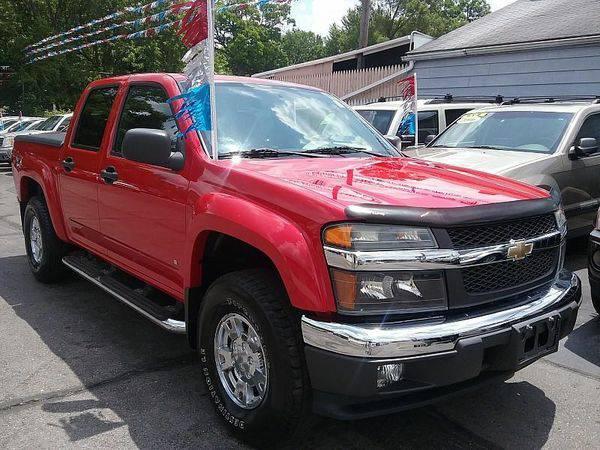 2007 *Chevrolet* *Colorado* LT 4dr Crew Cab 4WD SB *$499 Down Drives...