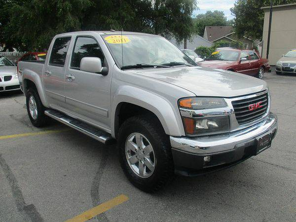 2011 *GMC* *Canyon* *4WD* Crew Cab SLE Z71 *$499 Down Drives Today!*