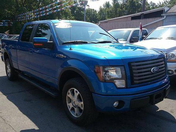 2012 *Ford* *F-150* *F 150* *F150* FX4 SuperCrew 6.5-ft. Bed 4WD...