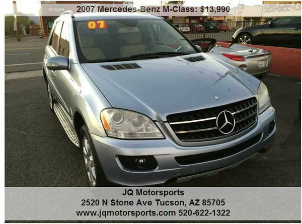 2007 MERCEDES BENZ ML320 CDI DIESEL.. 95K..PRISTINE COND.BAD CREDIT OK