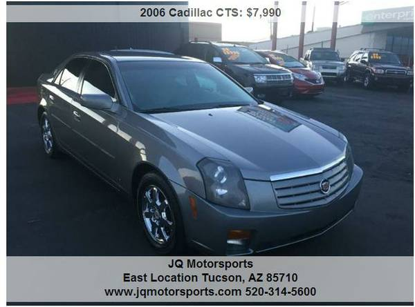 2006 CADILLAC CTS EXCELLENT COND. NO/BAD CREDIT? WE CAN HELP