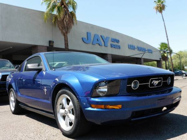 2007 Ford Mustang 2dr Cpe Deluxe /CLEAN AZ CARFAX/ ONLY 35K MILES!!!!