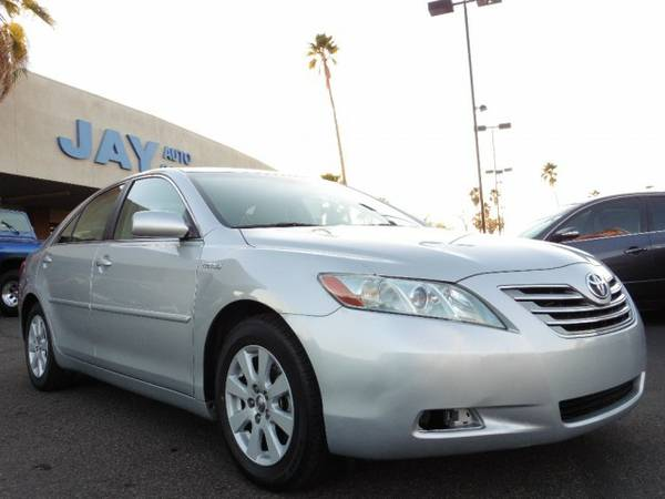 2007 Toyota Camry Hybrid 4dr / LEATHER LOADED / / NAVI / MOON ROOF!!!