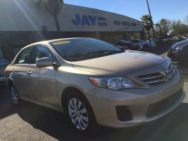 2013 Toyota Corolla 4dr Sdn Auto L / LOW MILES / BEST SELECTION IN...