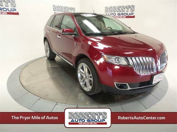 2013 *Lincoln MKX* Base - Lincoln Ruby Red Metallic Tinted Clearcoat
