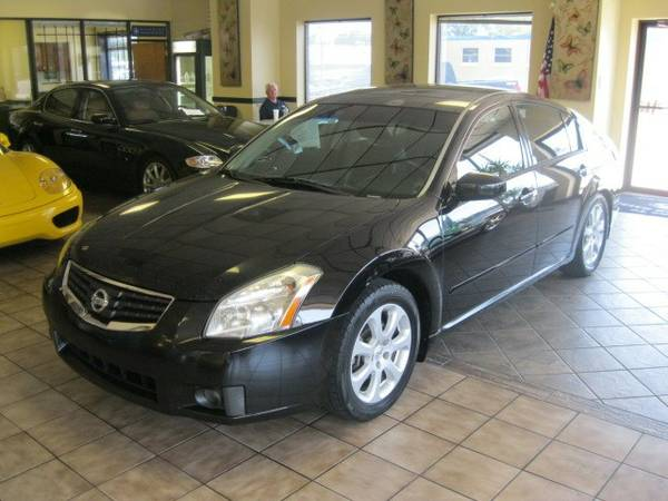 2007 NISSAN MAXIMA - LOADED - BUY HERE PAY HERE OR BANK FINANCING!!!