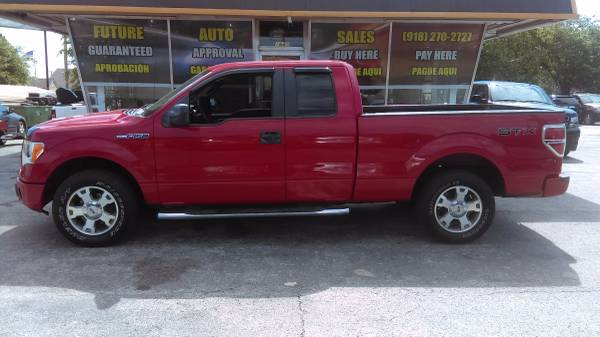 2009 Ford F-150 STX extended cab 4x4!!! bad credit ok!!!