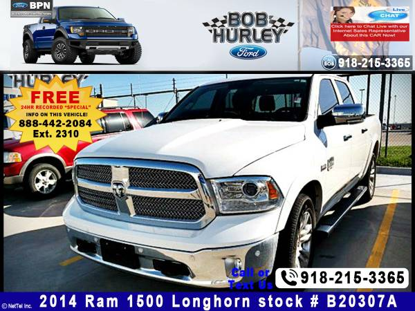 2014 Ram 1500 Longhorn Limited Stock #B20307A