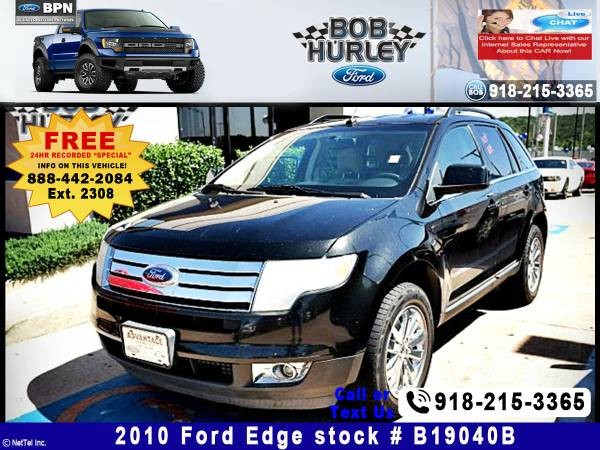 2010 Ford Edge Limited Stock #B19040B