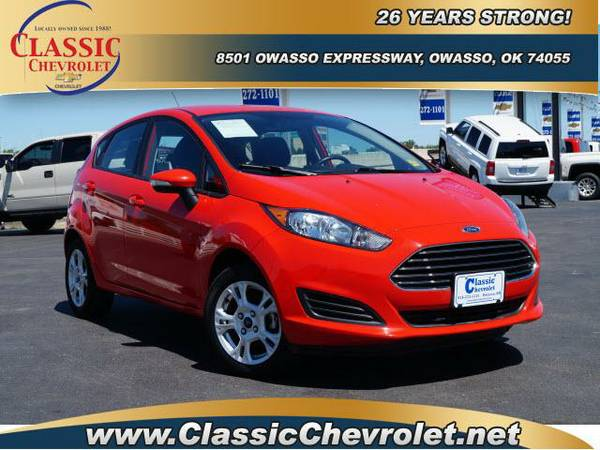 2015 Ford Fiesta 4dr Car 5dr HB SE