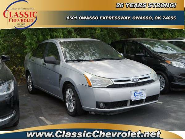 2008 Ford Focus 4dr Car 4dr Sdn SE